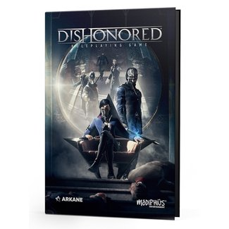 Modiphius Entertainment Dishonored RPG Core Book