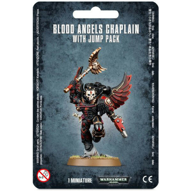 40k Chaplain with Jump Pack