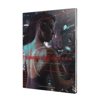 Renegade Game Studios Altered Carbon RPG: Core Rulebook HC