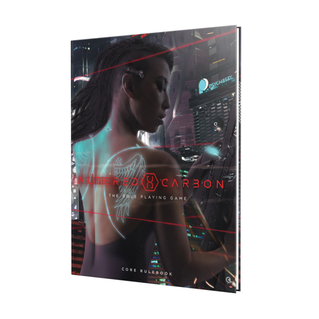 Altered Carbon RPG: Core Rulebook HC