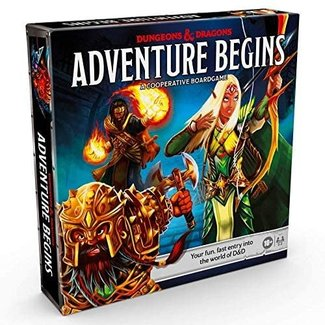 Wizards of the Coast D&D Adventure Begins