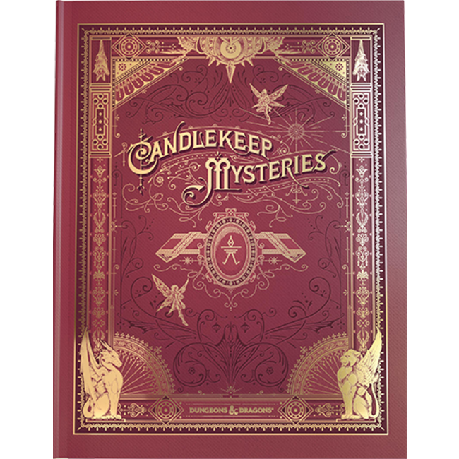 D&D 5th Edition: Candlekeep Mysteries Alt Cover
