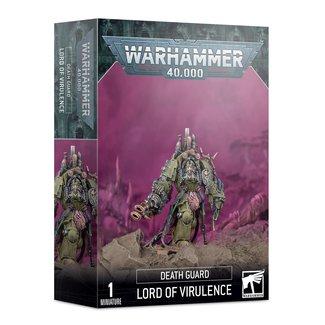 Warhammer 40,000 40k Death Guard Lord of Virulence