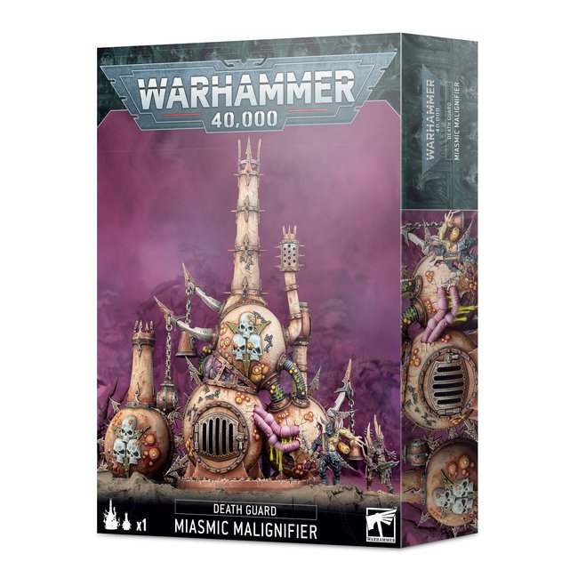 40k Death Guard: Miasmic Malignifier