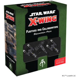 Fantasy Flight Games Fugitives and Collaborators Squadron Pack Star Wars X-Wing 2nd Edition