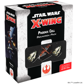 Fantasy Flight Games Phoenix Cell Squadron Pack SW X-Wing 2nd Edition
