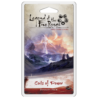 Fantasy Flight Games *PRE-ORDER* Legend of the Five Rings TCG: Coils of Power Dynasty Pack
