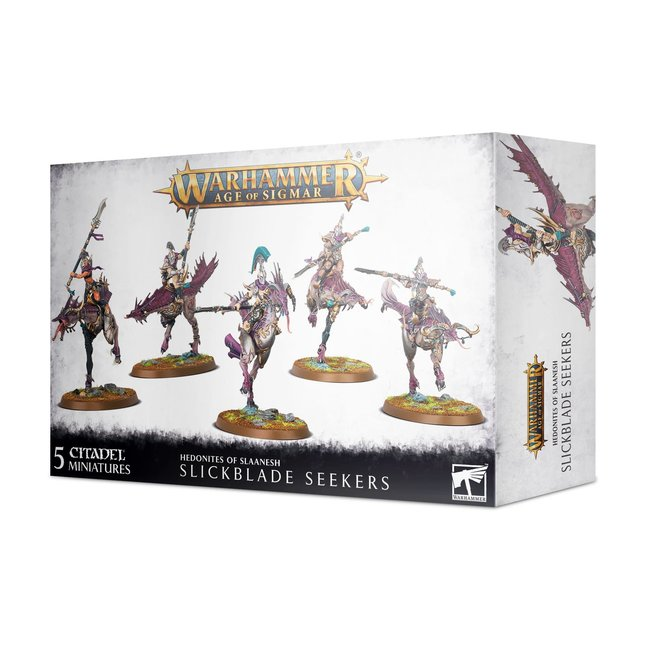 AoS Hedonites of Slaanesh: Slickblade Seekers