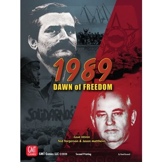 GMT Games 1989: Dawn of Freedom 2nd Edition