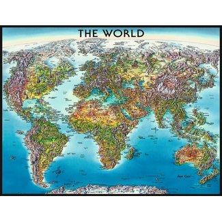 Ravensburger World Map 2000 pc Puzzle