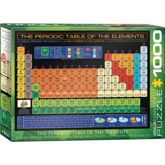 The Periodic Table of the Elements 1000pc Puzzle