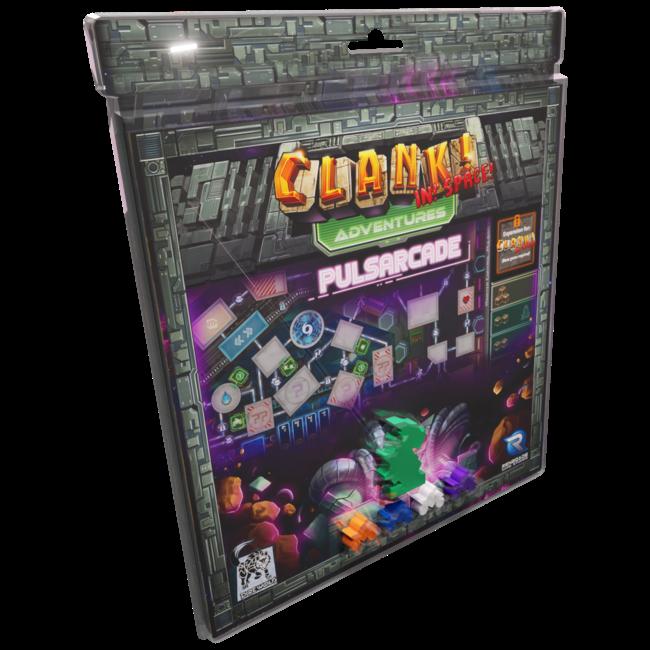 PRE-ORDER: Clank! In Space! Adventures - Pulsarcade Expansion