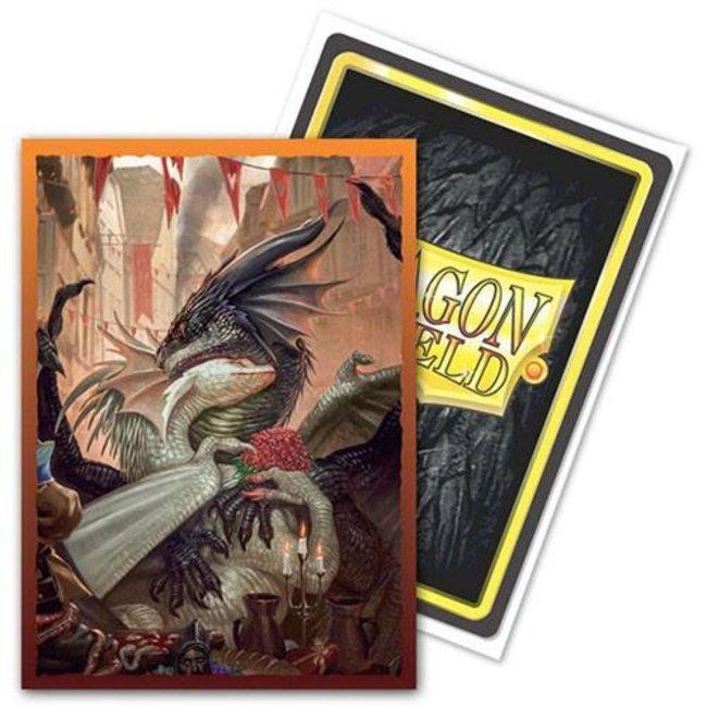 Art: Valentine Dragons Standard Brushed 100 ct - Dragon Shield