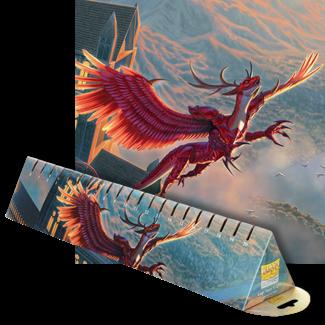 Dragon Shield Logi Royal Knight LE (Crimson) Playmat - Dragon Shield Format