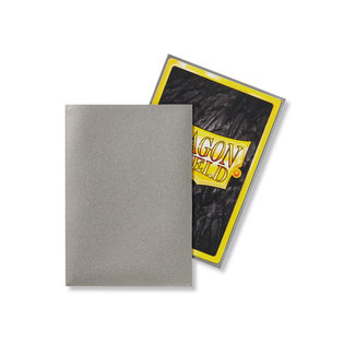 Dragon Shield Silver Japanese Matte Sleeves 60 ct - Dragon Shield
