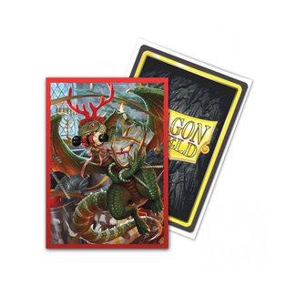 Dragon Shield Art: Christmas 2020 Standard Sleeves 100 ct - Dragon Shield