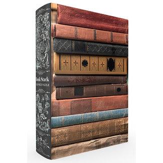 Book Stack Bookshelf Box Puzzle 1000 pc Puzzle