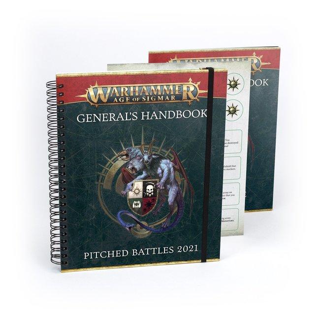 Warhammer Age of Sigmar General's Handbook Pitched Battles 2021