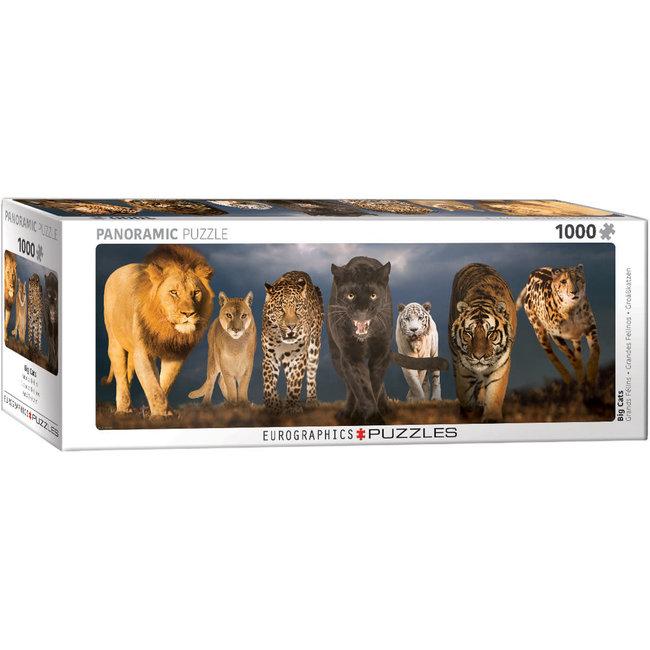Big Cats 1000 pc Puzzle