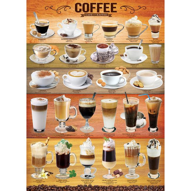 Coffee 1000 pc Puzzle