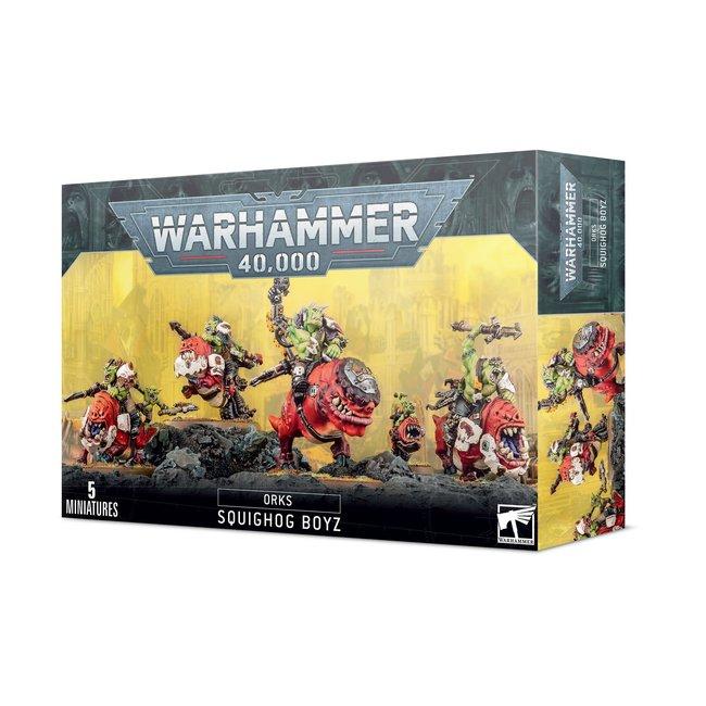 Warhammer 40k Orks: Squighog Boyz