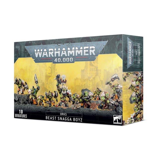 Warhammer 40k Orks: Beast Snagga Boyz