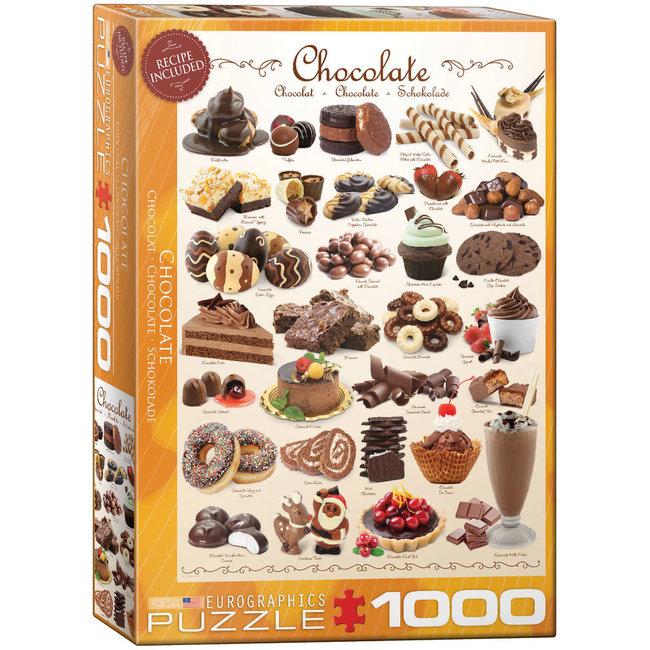 Chocolate 1000 pc Puzzle