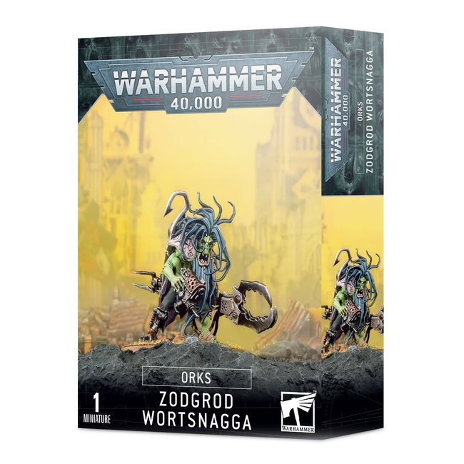 Warhammer 40k Orks: Zodgrod Wortsnagga