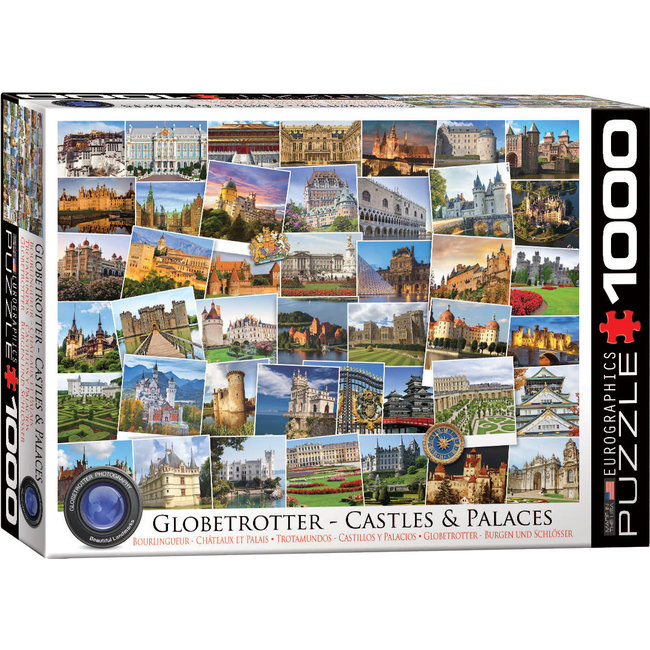 Castles and Palaces Globetrotter 1000 pc Puzzle