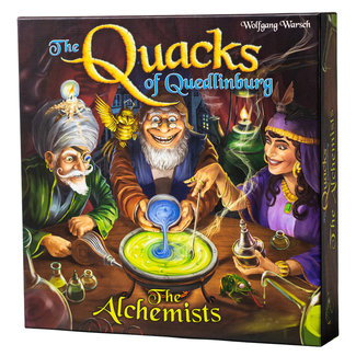 CMYK *PRE-ORDER 9/3* The Quacks of Quedlinburg: Alchemists Expansion