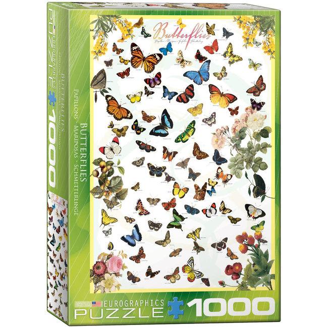 Butterflies 1000 pc Puzzle