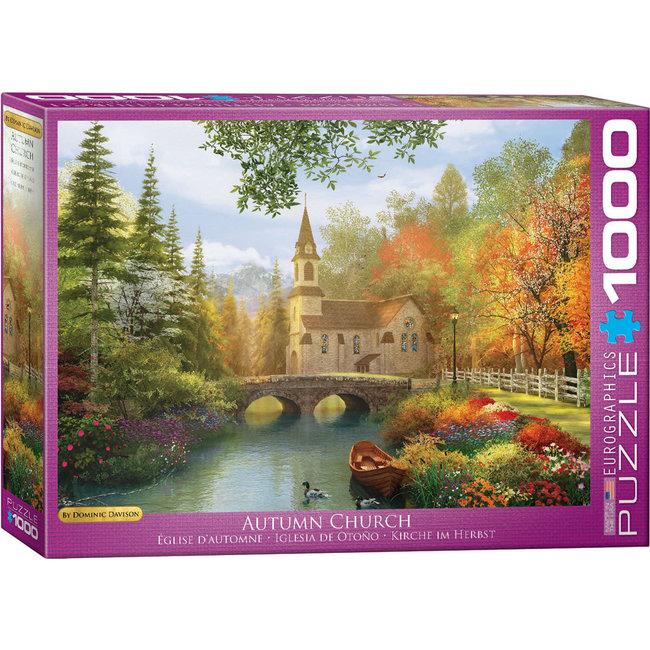 Autumn Church 1000 pc Puzzle
