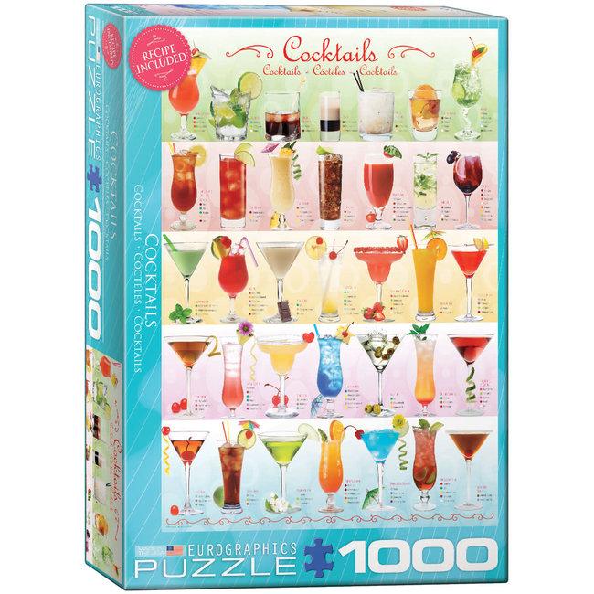 Cocktails 1000 pc Puzzle