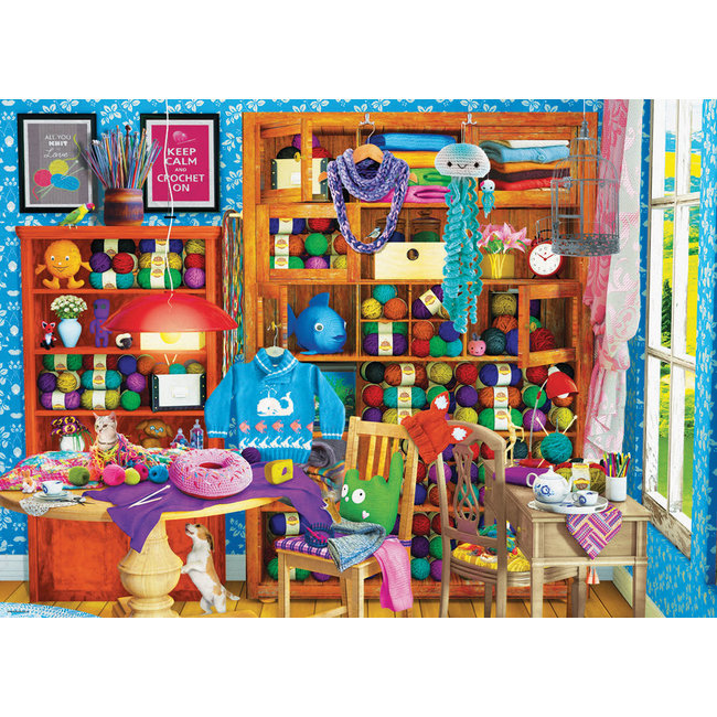 All You Knit is Love 1000 pc Puzzle