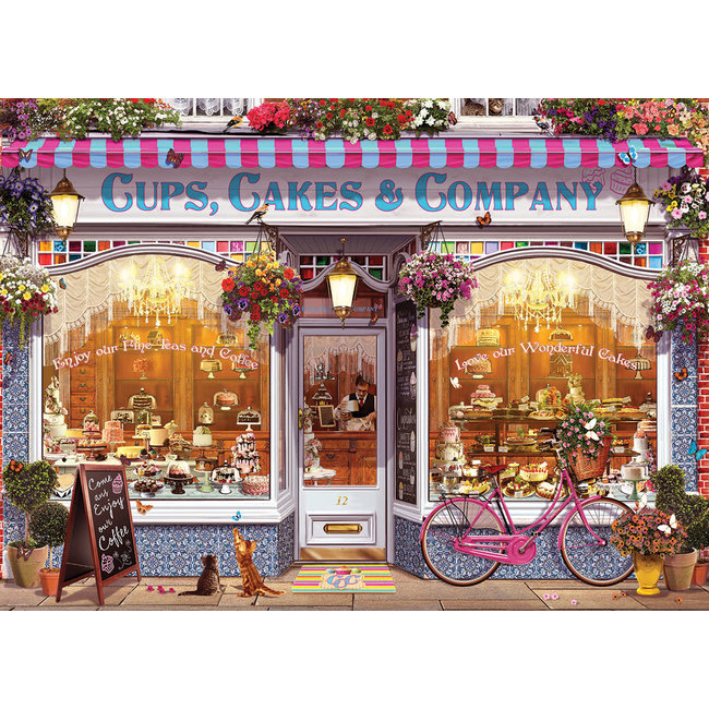 Cups, Cakes & Company 1000 pc Puzzle