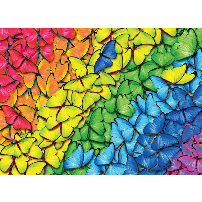 Butterfly Rainbow 1000 pc Puzzle