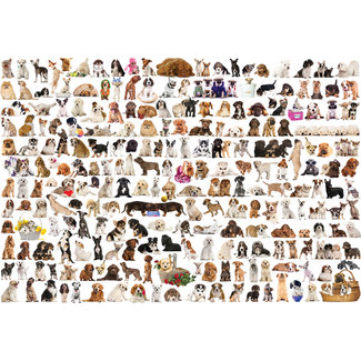 Eurographics Puzzles The World of Dogs 2000 pc Puzzle