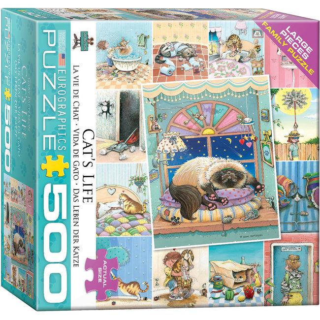 Cat's Life 500 pc Puzzle
