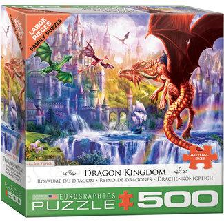 Eurographics Puzzles Dragon Kingdom 500 pc Puzzle