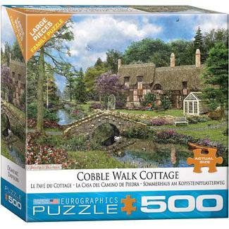 Eurographics Puzzles Cobble Walk Cottage 500 pc Puzzle