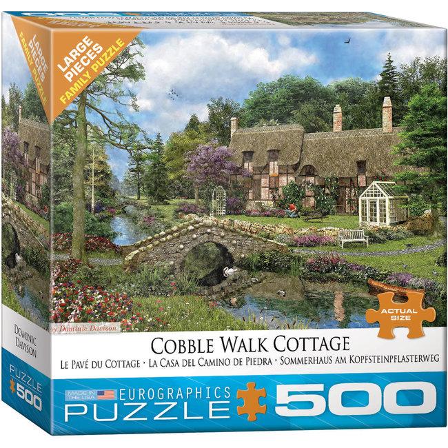 Cobble Walk Cottage 500 pc Puzzle