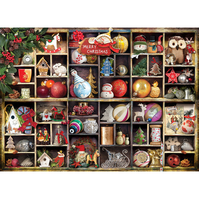 Christmas Ornaments 1000 pc Puzzle