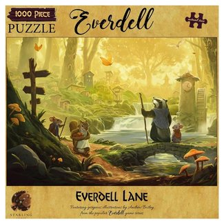 Flame Tree Publishing Everdell Lane Everdell 1000 pc Puzzle*