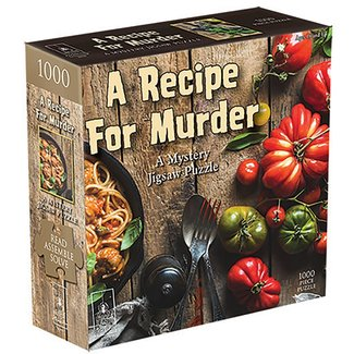 University Games A Recipe for Murder 1000 pc Puzzle