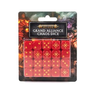 Age of Sigmar Age Of Sigmar: Grand Alliance Chaos Dice Set