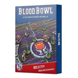 Blood Bowl 9/18 Blood Bowl: Dark Elf Pitch & Dugouts
