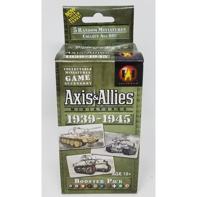 Axis & Allies Miniatures: 1939 - 1945 Booster Pack (Single Pack)