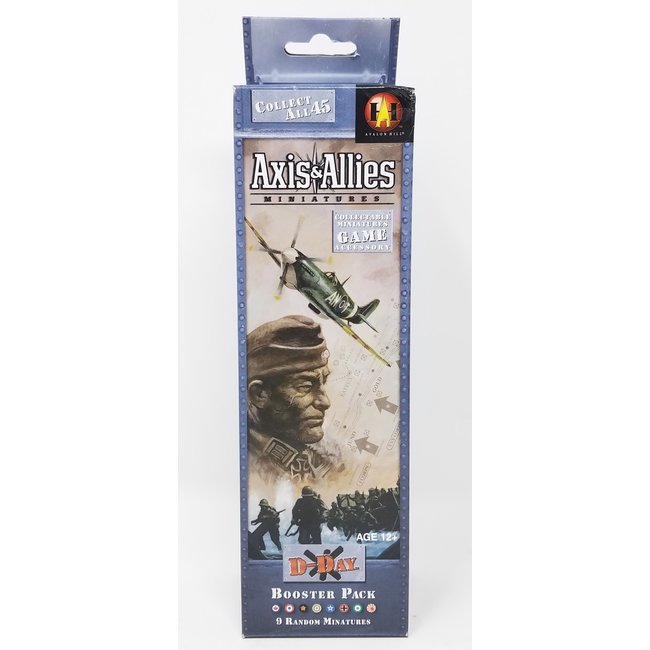 Axis & Allies Miniatures: D-Day Booster Pack (Single Pack)