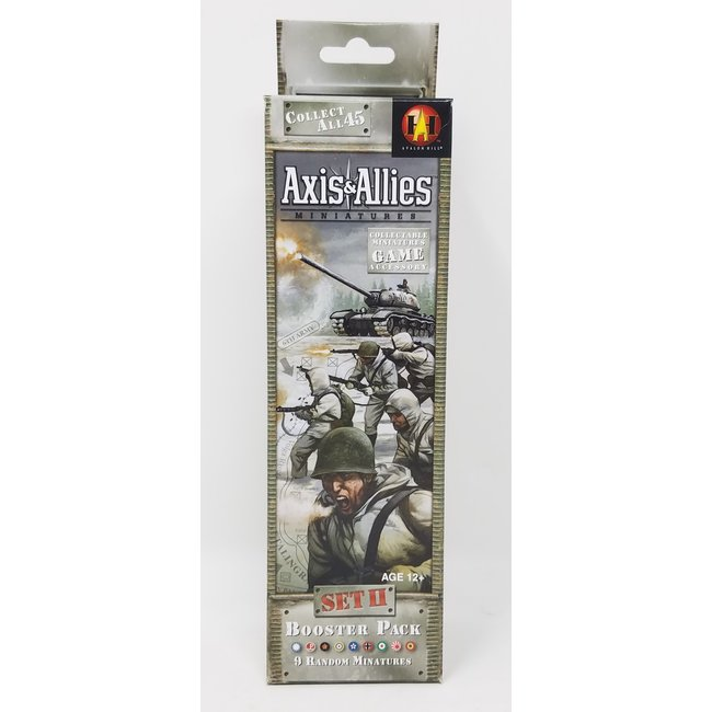 Axis & Allies Miniatures: Set II Booster Pack (Single Pack)