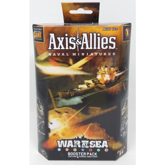 Axis & Allies Naval Miniatures: War at Sea Booster Pack (Single Pack)